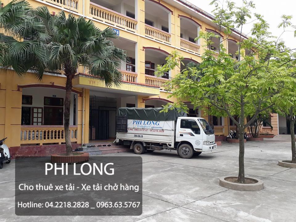 Cho thuê xe tải giá rẻ tại phố Trần Quang Diệu