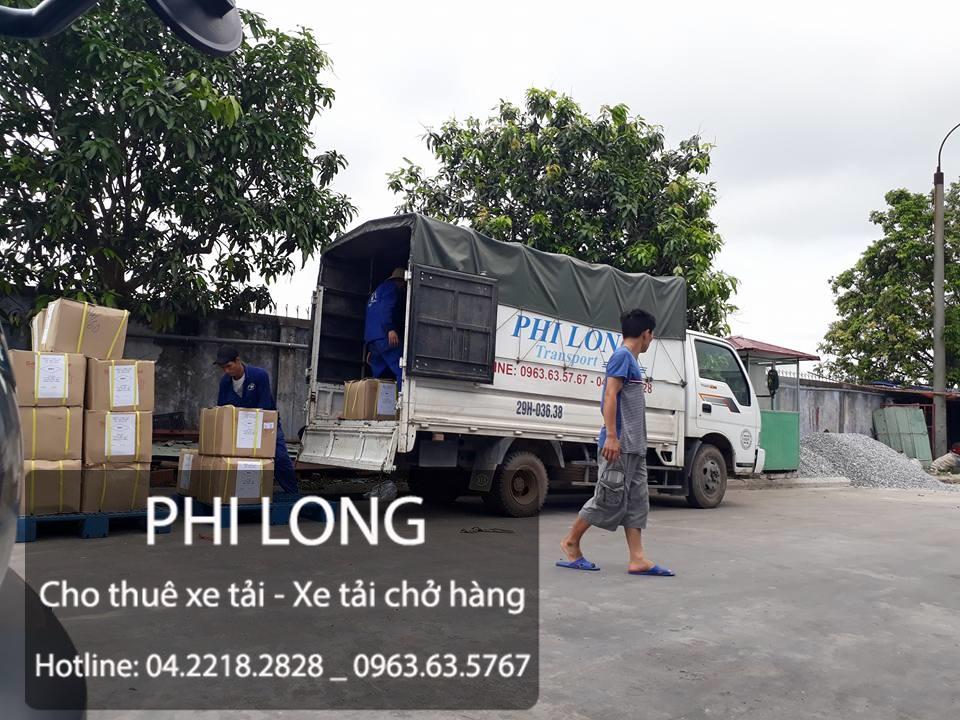Taxi tải Phi Long hãng cho thuê xe tải chuyên nghiệp tại phố Trần Quang Diệu