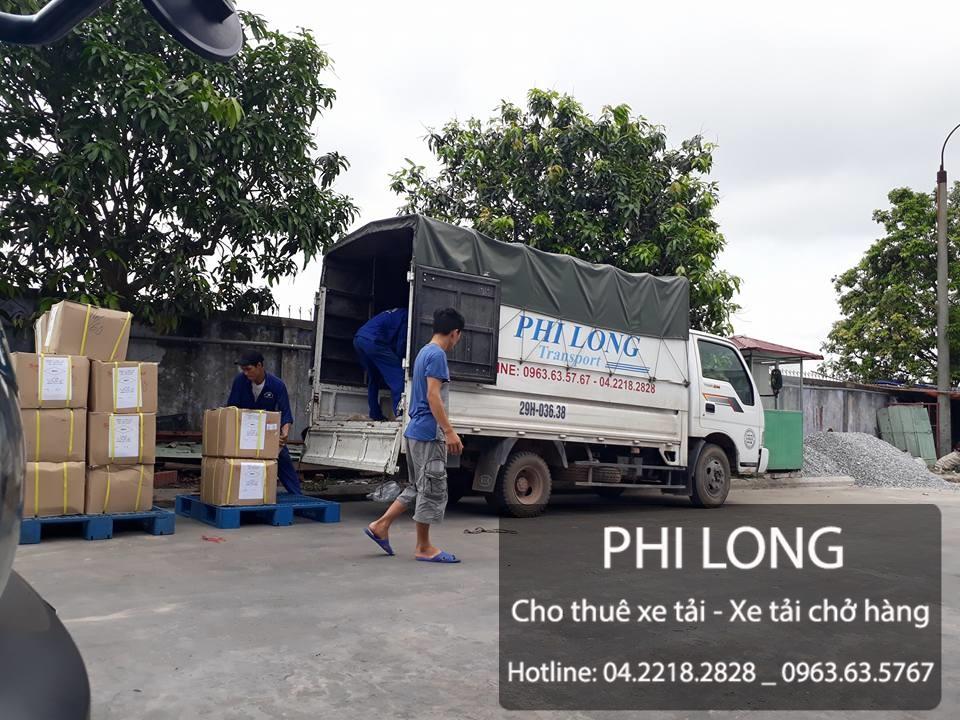 Dịch vụ cho thuê xe tải chở hàng giá rẻ tại phố Hoàng Cầu