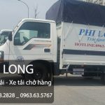Dịch vụ cho thuê xe tải chở hàng giá rẻ tại phố Nguyễn Khuyến