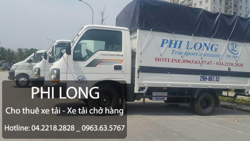 Cho thuê xe tải giá rẻ uy tín tại phố Nguyễn Khuyến