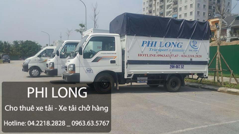 Dịch vụ nhận chở hàng thuê tại phố Trần Điền