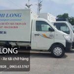 Phi Long cho thuê xe tải chở hàng giá rẻ chuyên nghiệp tại phố Ngô Sỹ Liên