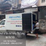 Dịch vụ cho thuê xe tải chở hàng giá rẻ tại phố Chu Huy Mân