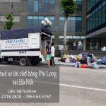 Cho thuê xe tải tại phố Huế