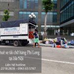 Cho thuê xe tải vận chuyển tại phố Võ Chí Công