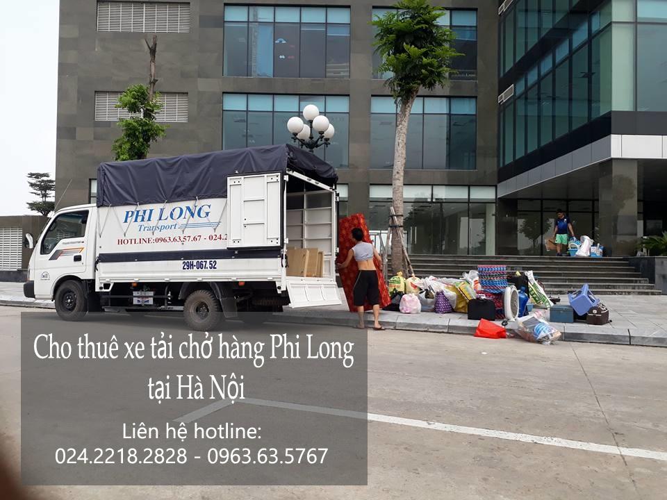 Dịch vụ cho thuê xe tải chở hàng giá rẻ tại phố Nguyễn Thái Học
