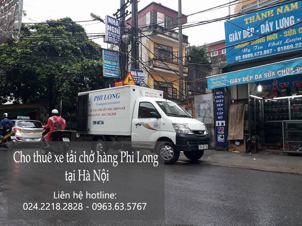 Cho thuê xe tải 3,5 tấn tại phố Vĩnh Hồ