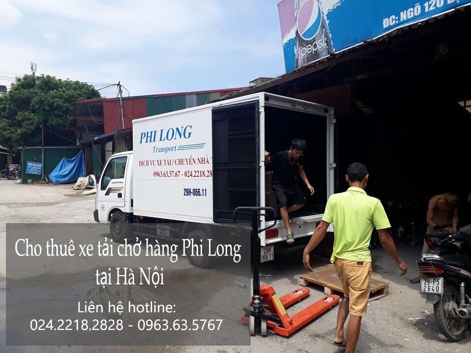 Cho thuê xe tải chở cây cảnh tại phố Phó Đức Chính