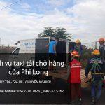 Cho thuê xe tải tại phố Bùi Xương Thạch