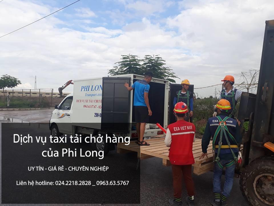 Dịch vụ cho thuê xe tải tại phố Yên Nội