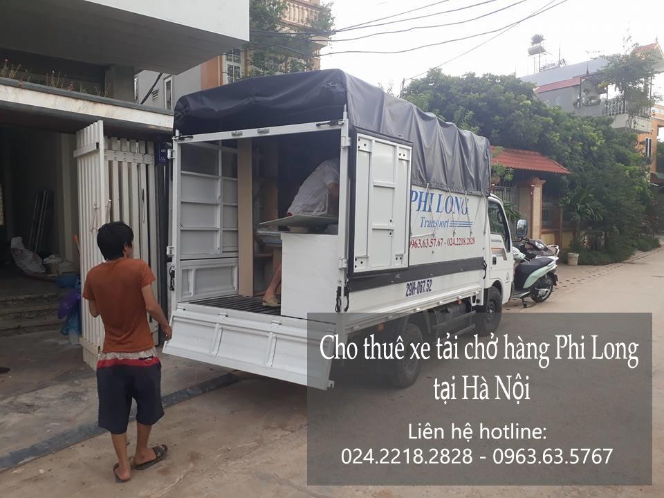 Cho thuê xe tải giá rẻ tại phố Bà Huyện Thanh Quan