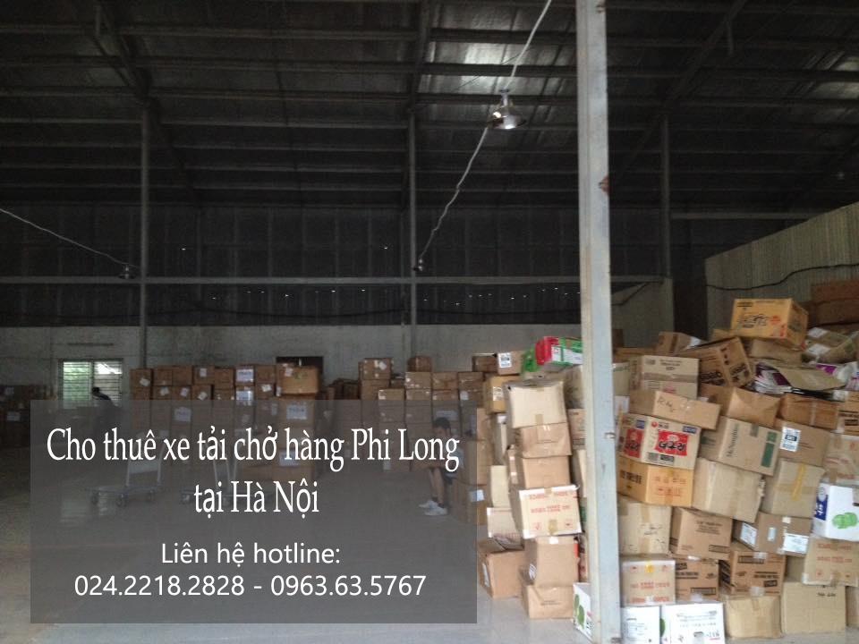 Dịch vụ cho thuê xe tải chở hàng tại phố Điện Biên Phủ