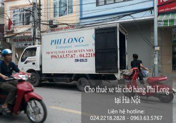Cho thuê xe tải phố Nguyễn Cao Luyện