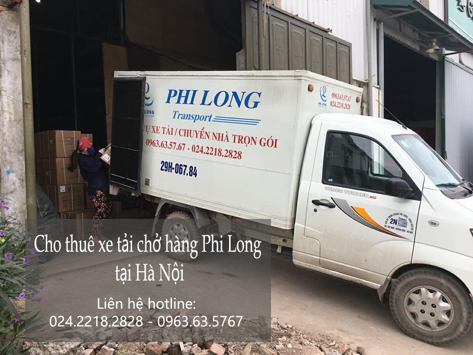 Cho thuê xe tải chở hàng tại khu đô thị Dương Nội