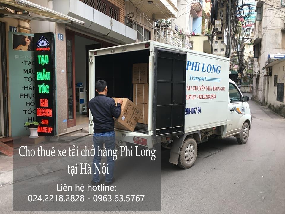 Dịch vụ cho thuê xe tải tại phố Ngọc Khánh