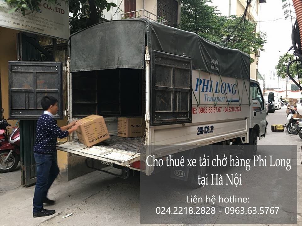 Cho thuê xe tải 500kg tại phố Đông Thiên