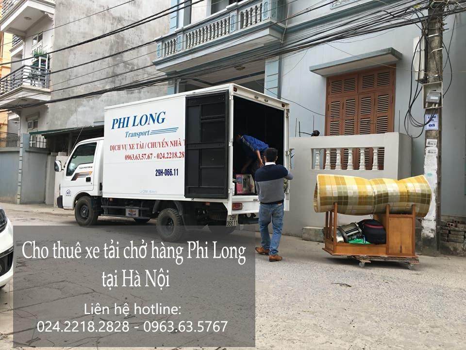 Dịch vụ cho thuê xe tải tại phố Thượng Thanh