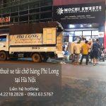 Cho thuê xe tải tại phố Phú Thượng