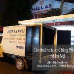 Cho thuê xe tải giá rẻ tại phố Kim Quan
