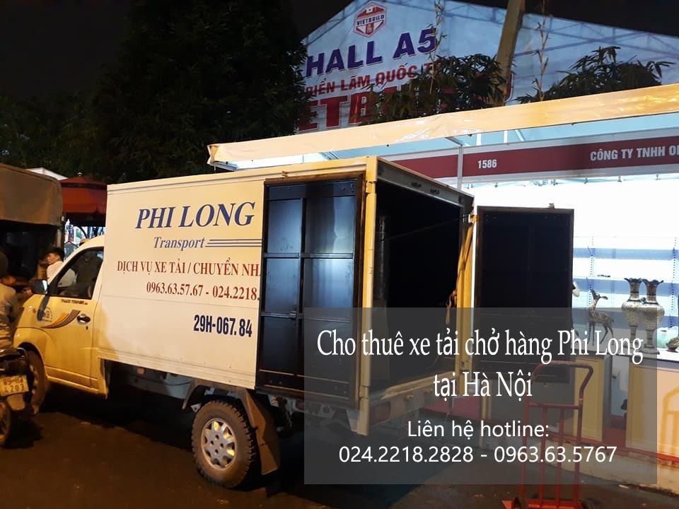 Cho thuê xe tải giá rẻ tại phố Kim Quan-0963.63.5767.