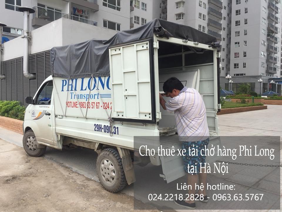 Cho thuê xe tải chở hàng tại phố Trấn Vũ