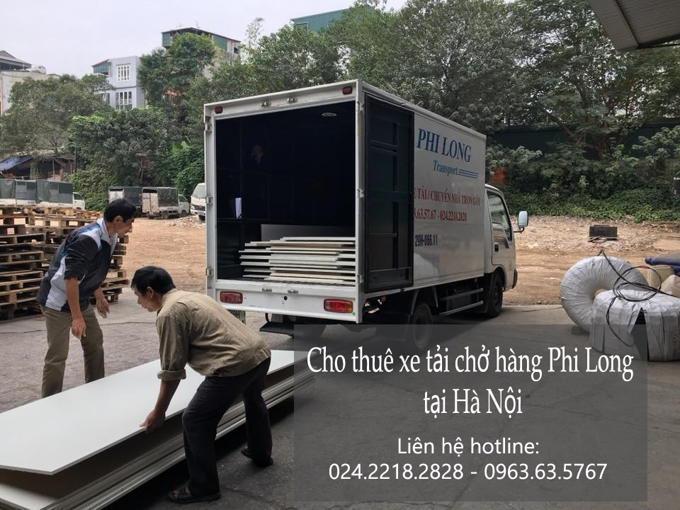 Dịch vụ cho thuê xe tải tại phố Đại Cồ Việt