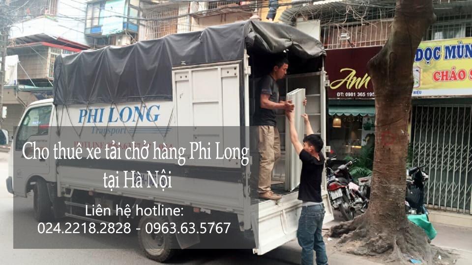 Dịch vụ cho thuê xe tải tại phố Phạm Huy Thông