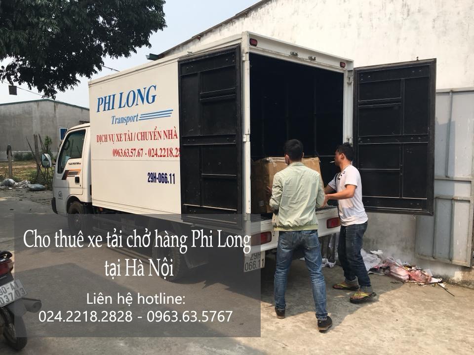 Chở hàng thuê bằng xe tải giá rẻ tại phố Tô Tịch