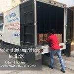 Cho thuê xe tải giá rẻ tại phố Trung Kính