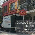 Dịch vụ cho thuê xe tải tại phố Ngô Văn Sở