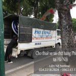 Xe tải chở hàng giá rẻ tại đường Giải Phóng