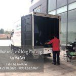 Xe tải chở hàng thuê tại khu đô thị Pháp Vân