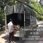 Dịch vụ cho thuê xe tải Phi Long tại phố Nguyễn Quý Đức