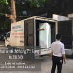 Dịch vụ cho thuê xe tải Phi Long tại phố Dương Đình Nghệ