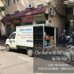 Dịch vụ cho thuê xe tải 2 tấn tại phố Trần Cao Vân
