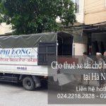 Cho thuê xe tải tại phố Trần Quốc Toản