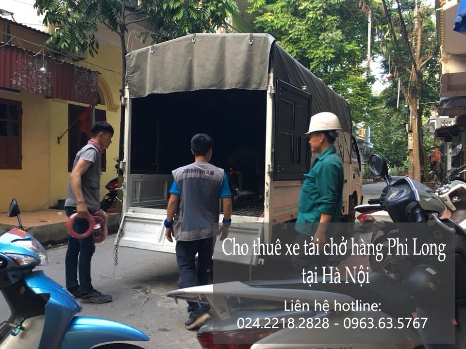 Cho thuê xe tải vận chuyển tại phố Nguyễn Cơ Thạch