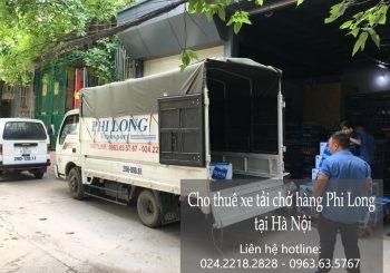 Dịch vụ cho thuê xe tải giá rẻ tại phố Quỳnh Mai 2019