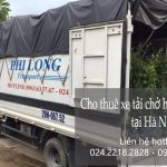 Dịch vụ cho thuê xe tải vận chuyển tại phố Thiền Quang