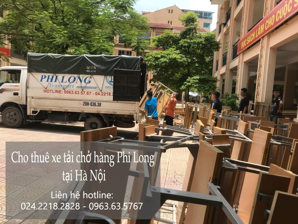 Cho thuê xe tải vận chuyển tại phố Tân Ấp