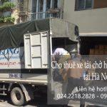 Cho thuê xe tải tại phố Hồng Hà