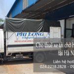 Cho thuê xe tải tại đường Lạc Long Quân
