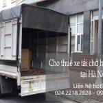 Dịch vụ cho thuê xe tải tại phố Lê Đại Hành