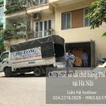 Cho thuê xe tải chuyên nghiệp tại phố Ngô Sĩ Liên