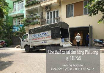 Dịch vụ cho thuê xe tải tại phố Cầu Đất