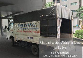 Cho thuê xe tải tại phố Đội Nhân