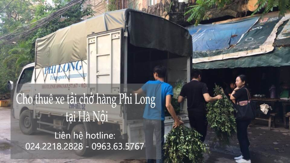 Dịch vụ cho thuê xe tải tại phố Láng Hạ