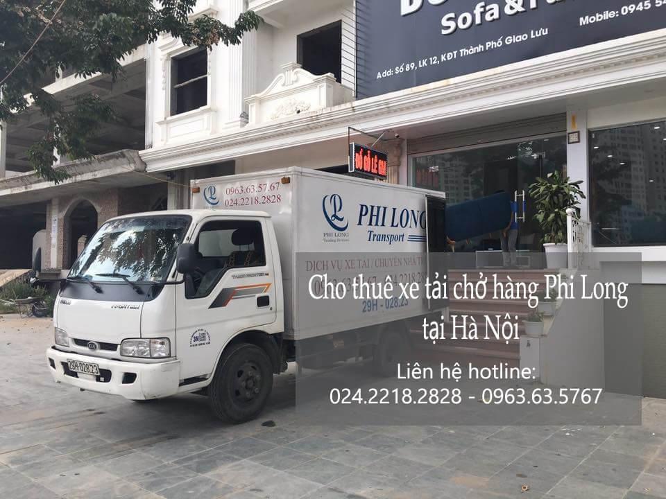 Dịch vụ cho thuê xe tải tại phố Lê Trực