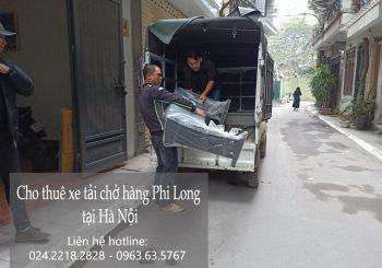Dịch vụ cho thuê xe tải giá rẻ tại phố Hạ Yên 2019